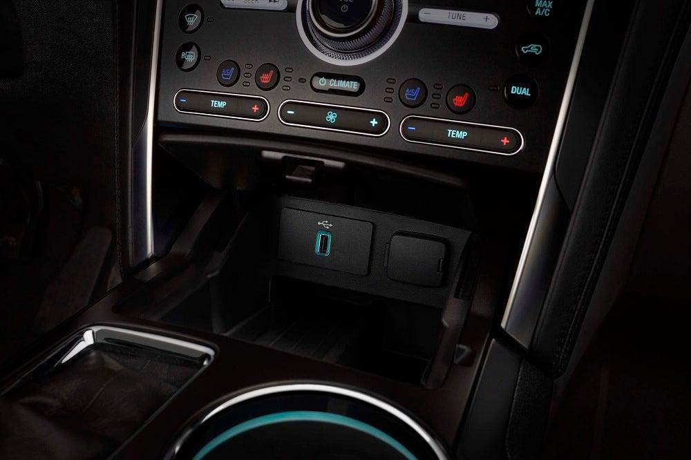 2018 Ford Explorer Configurations Interior