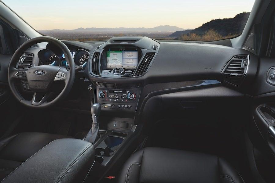 Ford Escape Interior Technology